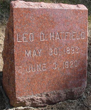HATFIELD, LEO D. - Woodbury County, Iowa | LEO D. HATFIELD