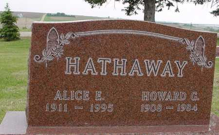 HATHAWAY, HOWARD & ALICE - Woodbury County, Iowa | HOWARD & ALICE HATHAWAY