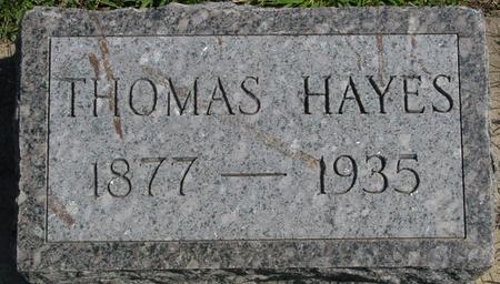 HAYES, THOMAS - Woodbury County, Iowa | THOMAS HAYES