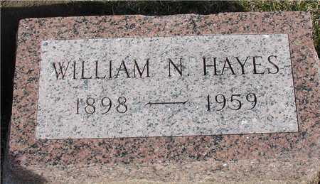 HAYES, WILLIAM N. - Woodbury County, Iowa   WILLIAM N. HAYES