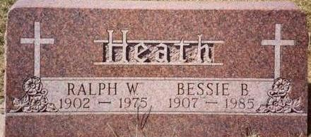 HEATH, RALPH & BESSIE - Woodbury County, Iowa | RALPH & BESSIE HEATH