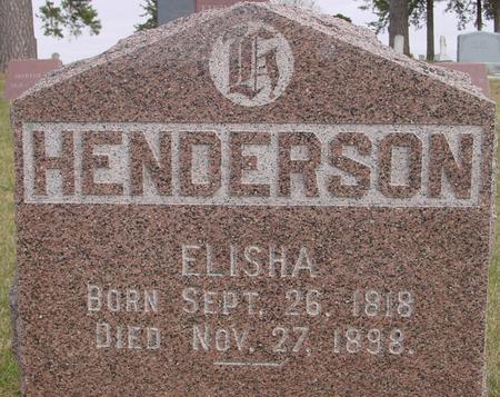 HENDERSON, ELISHA - Woodbury County, Iowa | ELISHA HENDERSON