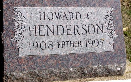HENDERSON, HOWARD C. - Woodbury County, Iowa | HOWARD C. HENDERSON