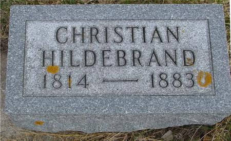 HILDEBRAND, CHRISTIAN - Woodbury County, Iowa | CHRISTIAN HILDEBRAND