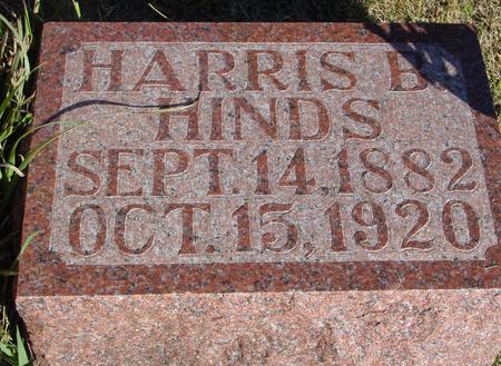 HINDS, HARRIS B. - Woodbury County, Iowa   HARRIS B. HINDS