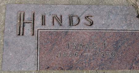 HINDS, ISAAC F. - Woodbury County, Iowa | ISAAC F. HINDS
