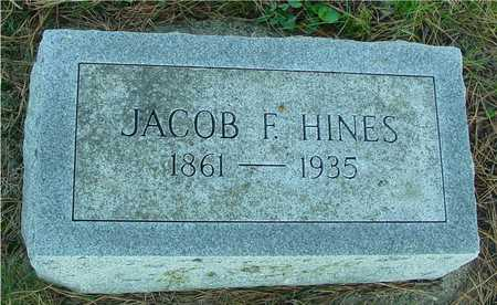 HINES, JACOB F. - Woodbury County, Iowa | JACOB F. HINES