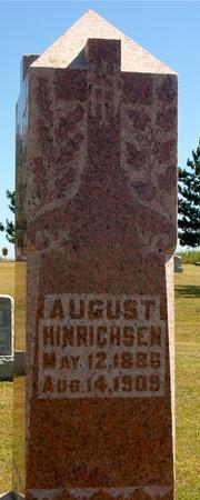 HINRICHSEN, AUGUST - Woodbury County, Iowa | AUGUST HINRICHSEN