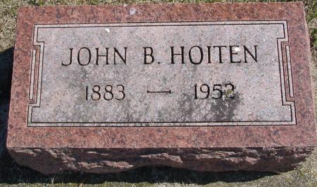 HOITEN, JOHN B. - Woodbury County, Iowa | JOHN B. HOITEN