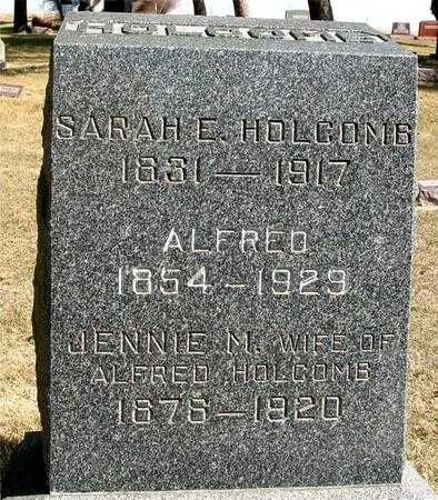 HOLCOMB, ALFRED & JENNIE - Woodbury County, Iowa | ALFRED & JENNIE HOLCOMB