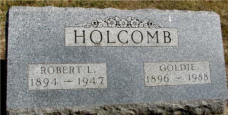 HOLCOMB, ROBERT & GOLDIE - Woodbury County, Iowa   ROBERT & GOLDIE HOLCOMB