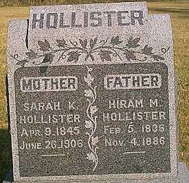 HOLLISTER, HIRAM M. - Woodbury County, Iowa | HIRAM M. HOLLISTER