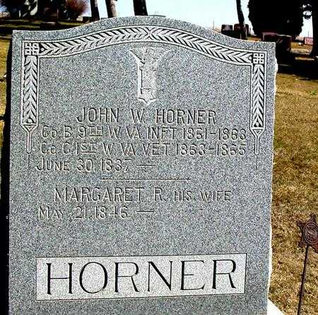 HORNER, JOHN WILEY - Woodbury County, Iowa | JOHN WILEY HORNER