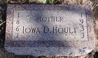 HOULT, IOWA D. - Woodbury County, Iowa | IOWA D. HOULT