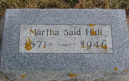 HULL, MARTHA - Woodbury County, Iowa | MARTHA HULL