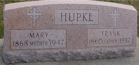HUPKE, FRANK & MARY - Woodbury County, Iowa | FRANK & MARY HUPKE