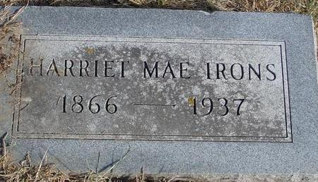 IRONS, HARRIET MAE - Woodbury County, Iowa | HARRIET MAE IRONS