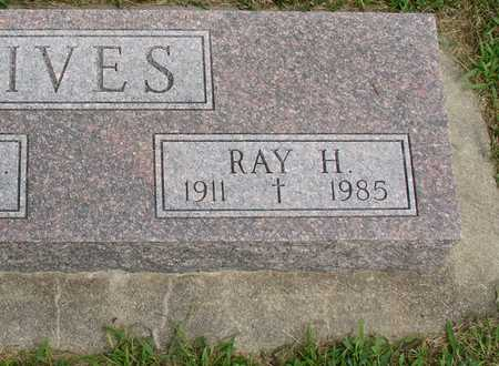 IVES, RAY H. - Woodbury County, Iowa | RAY H. IVES