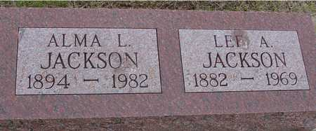 JACKSON, ALMA & LEE - Woodbury County, Iowa | ALMA & LEE JACKSON