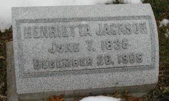 JACKSON, HENRIETTA - Woodbury County, Iowa | HENRIETTA JACKSON