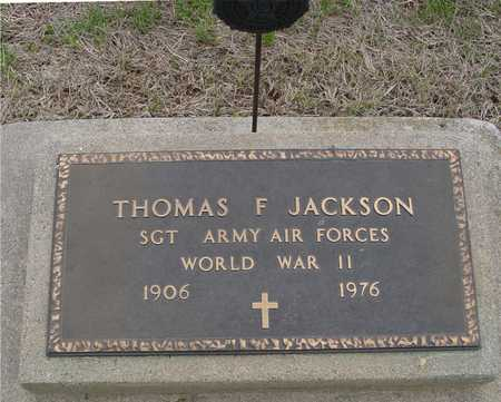 JACKSON, THOMAS F. - Woodbury County, Iowa | THOMAS F. JACKSON