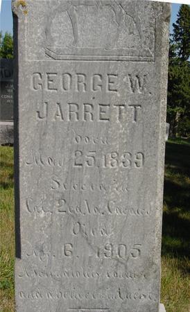 JARRETT, GEORGE W. - Woodbury County, Iowa | GEORGE W. JARRETT