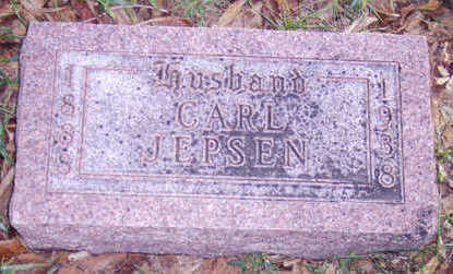 JEPSEN, CARL - Woodbury County, Iowa | CARL JEPSEN