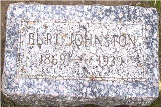 JOHNSTON, BURTON - Woodbury County, Iowa | BURTON JOHNSTON