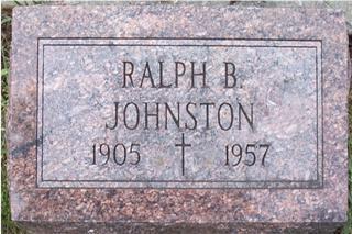 JOHNSTON, RALPH B. - Woodbury County, Iowa | RALPH B. JOHNSTON