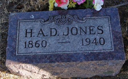 JONES, H. A. D. - Woodbury County, Iowa | H. A. D. JONES