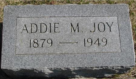 JOY, ADDIE M. - Woodbury County, Iowa | ADDIE M. JOY