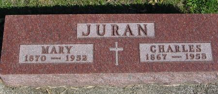 JURAN, CHARLES & MARY - Woodbury County, Iowa | CHARLES & MARY JURAN