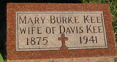 BURKE KEE, MARY - Woodbury County, Iowa | MARY BURKE KEE