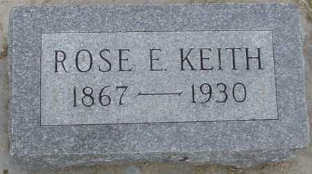 KEITH, ROSE E. - Woodbury County, Iowa | ROSE E. KEITH