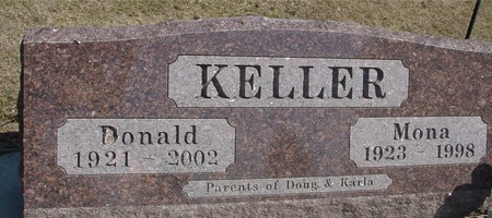 KELLER, DONALD & MONA - Woodbury County, Iowa | DONALD & MONA KELLER
