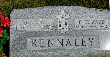KENNALEY, T. EDWARD & ANNIE - Woodbury County, Iowa | T. EDWARD & ANNIE KENNALEY