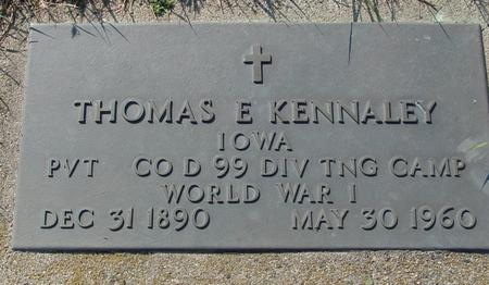 KENNALEY, THOMAS - Woodbury County, Iowa   THOMAS KENNALEY