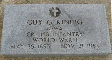 KINDIG, GUY G. - Woodbury County, Iowa | GUY G. KINDIG