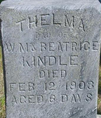 KINDLE, THELMA - Woodbury County, Iowa | THELMA KINDLE