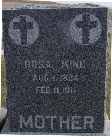 KING, ROSA - Woodbury County, Iowa | ROSA KING