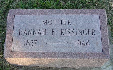 KISSINGER, HANNAH - Woodbury County, Iowa | HANNAH KISSINGER