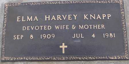 HARVEY KNAPP, ELMA - Woodbury County, Iowa | ELMA HARVEY KNAPP