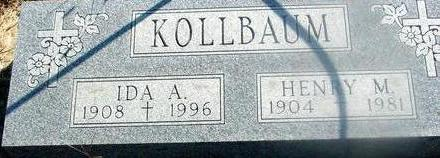 KOLLBAUM, HENRY M. & IDA - Woodbury County, Iowa | HENRY M. & IDA KOLLBAUM