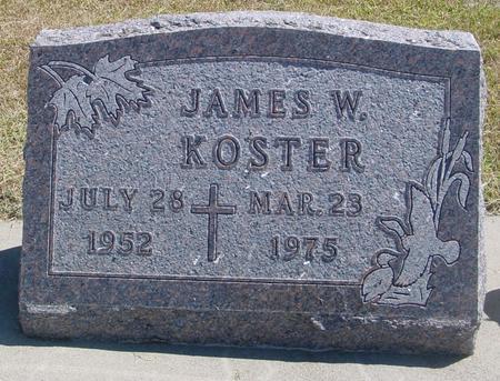 KOSTER, JAMES W. - Woodbury County, Iowa | JAMES W. KOSTER