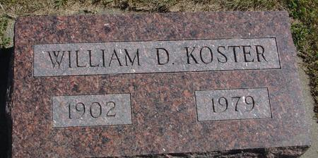 KOSTER, WILLIAM D. - Woodbury County, Iowa | WILLIAM D. KOSTER