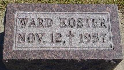 KOSTER, WARD - Woodbury County, Iowa | WARD KOSTER