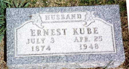 KUBE, ERNEST - Woodbury County, Iowa | ERNEST KUBE