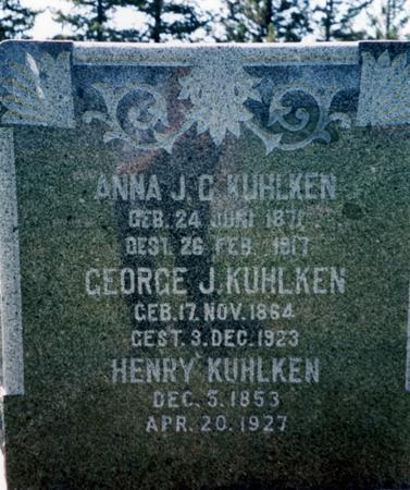 KUHLKEN, HENRY - Woodbury County, Iowa | HENRY KUHLKEN