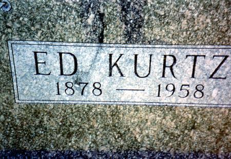 KURTZ, ED - Woodbury County, Iowa | ED KURTZ
