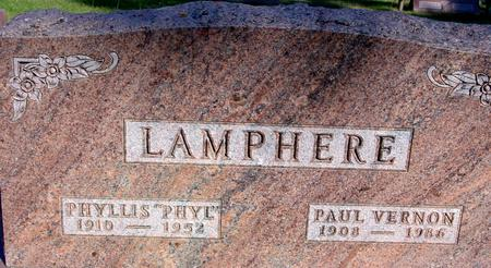 LAMPHERE, PAUL & PHYLLIS - Woodbury County, Iowa | PAUL & PHYLLIS LAMPHERE